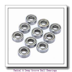 MRC 1803 SFF Radial & Deep Groove Ball Bearings
