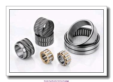 3/8 in x 9/16 in x 1/2 in  Koyo NRB B-68;PDL051 Drawn Cup Needle Roller Bearings