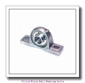 2.4375 in x 7.1250 to 8.8750 in x 2.7500 in  Sealmaster MP-39 C Pillow Block Ball Bearing Units