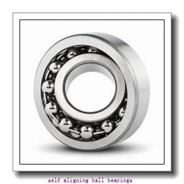 90 mm x 190 mm x 43 mm  FAG 1318-K-M-C3 Self-Aligning Ball Bearings