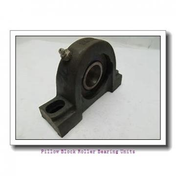 3.4375 in x 11-5/8 to 13-1/8 in x 5-5/16 in  Rexnord ZAF5307 Pillow Block Roller Bearing Units