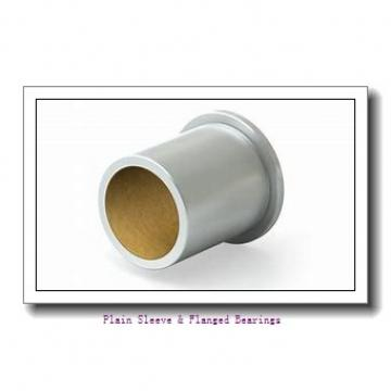 Bunting Bearings, LLC CB040708 Plain Sleeve & Flanged Bearings