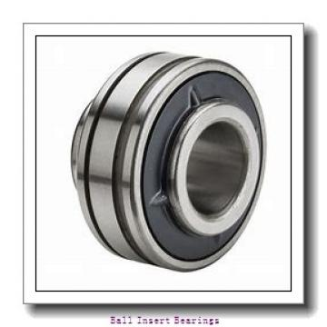 55,5625 mm x 100 mm x 55,56 mm  Timken 1203KR Ball Insert Bearings