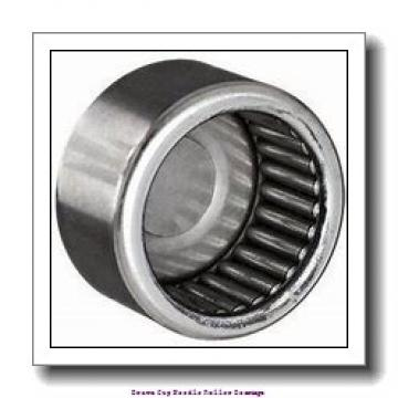 1/4 in x 7/16 in x 1/4 in  Koyo NRB B-44;PDL125 Drawn Cup Needle Roller Bearings