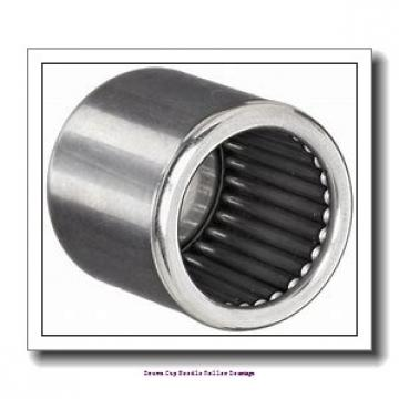5/32 in x 9/32 in x 1/4 in  Koyo NRB B-2 1/2 4;PDL051 Drawn Cup Needle Roller Bearings