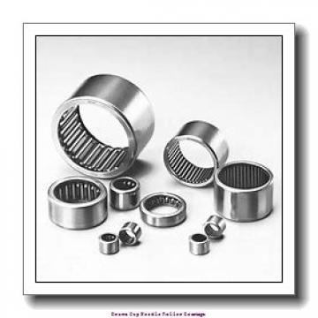7/16 in x 5/8 in x 1/2 in  Koyo NRB M-781-OH Drawn Cup Needle Roller Bearings