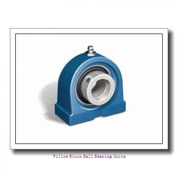 1.625 Inch | 41.275 Millimeter x 1.938 Inch | 49.225 Millimeter x 2.063 Inch | 52.4 Millimeter  Sealmaster NPL-26TC Pillow Block Ball Bearing Units