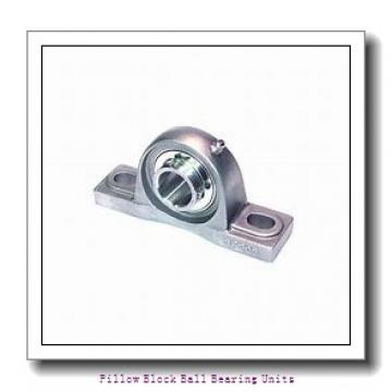 1.438 Inch | 36.525 Millimeter x 1.938 Inch | 49.225 Millimeter x 2.125 Inch | 53.98 Millimeter  Sealmaster MP-23C Pillow Block Ball Bearing Units